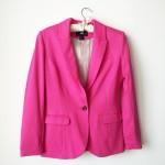 Дамско сако HM розово